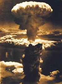 La bomba su Nagasaki...