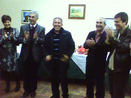 Camillo Gulisano al traguardo della pensione
