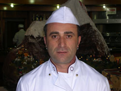 Il maestro pasticcere Sebastiano Torrisi