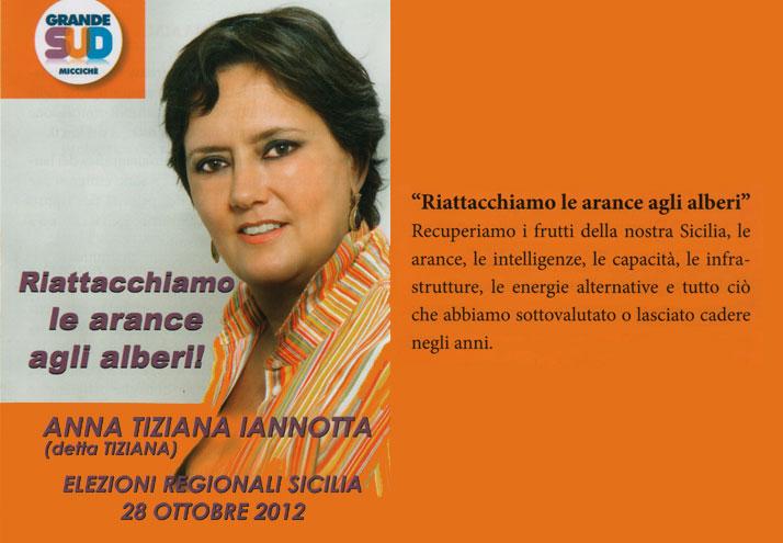 Anna Tiziana Iannotta (Grande Sud)