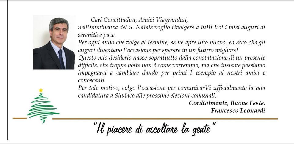 Auguri da Francesco Leonardi