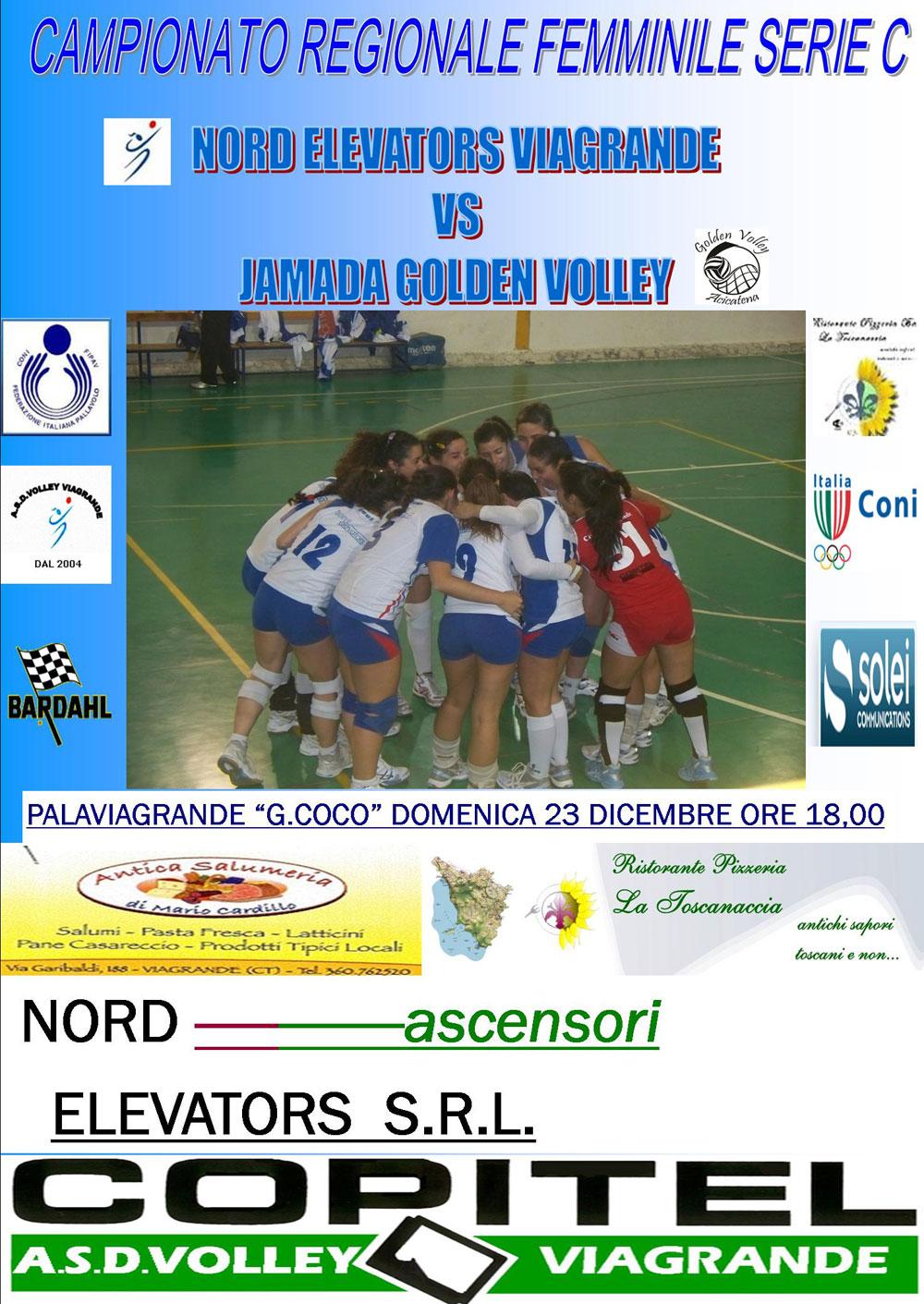 Nord Elevator Viagrande - Jamada Golden Volley