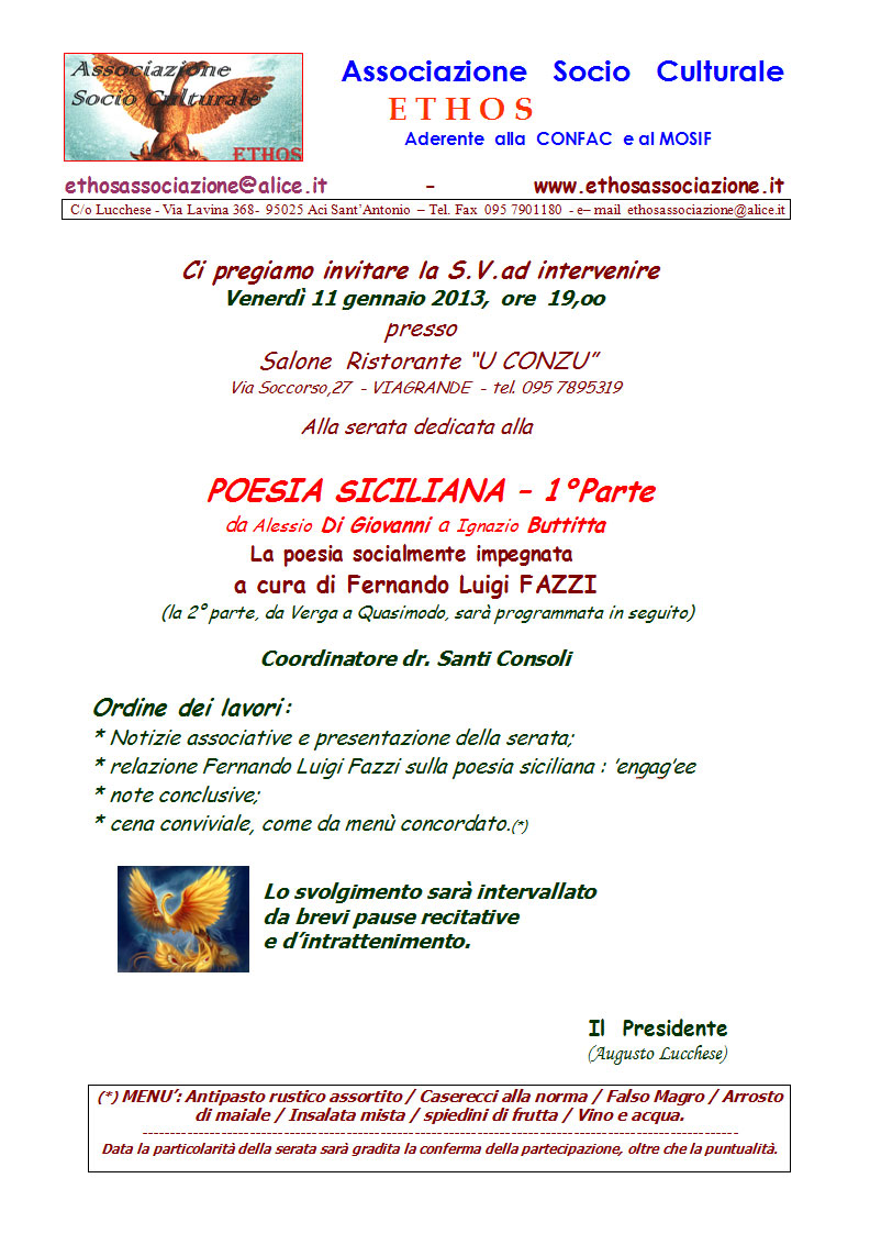 Ethos - Poesia Siciliana