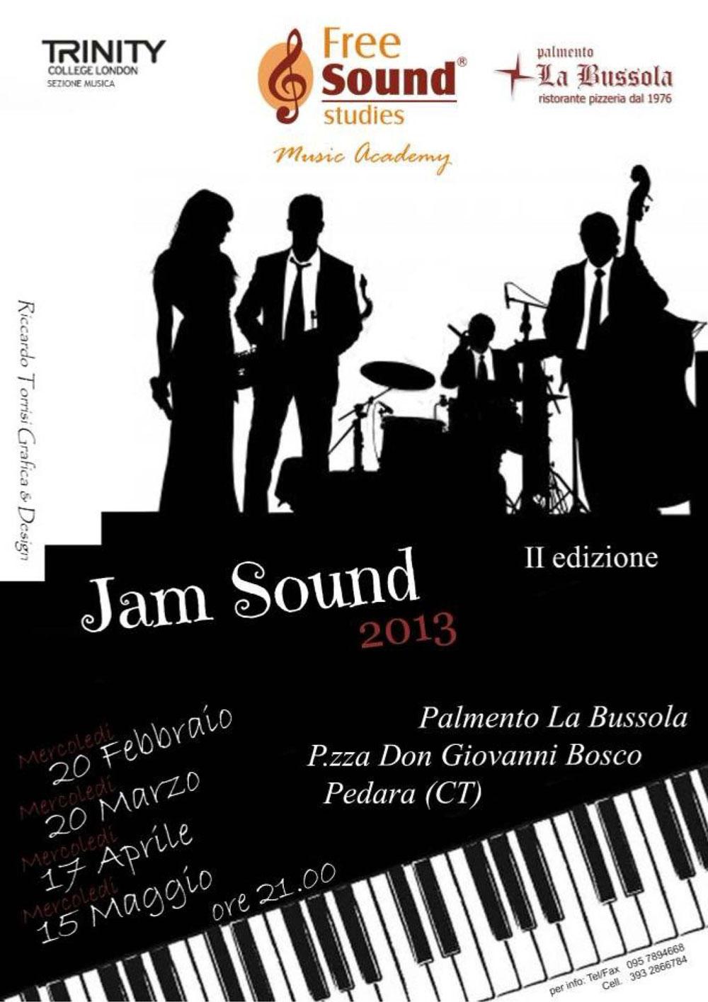 Free Sound Studies. Jam Sound 2013