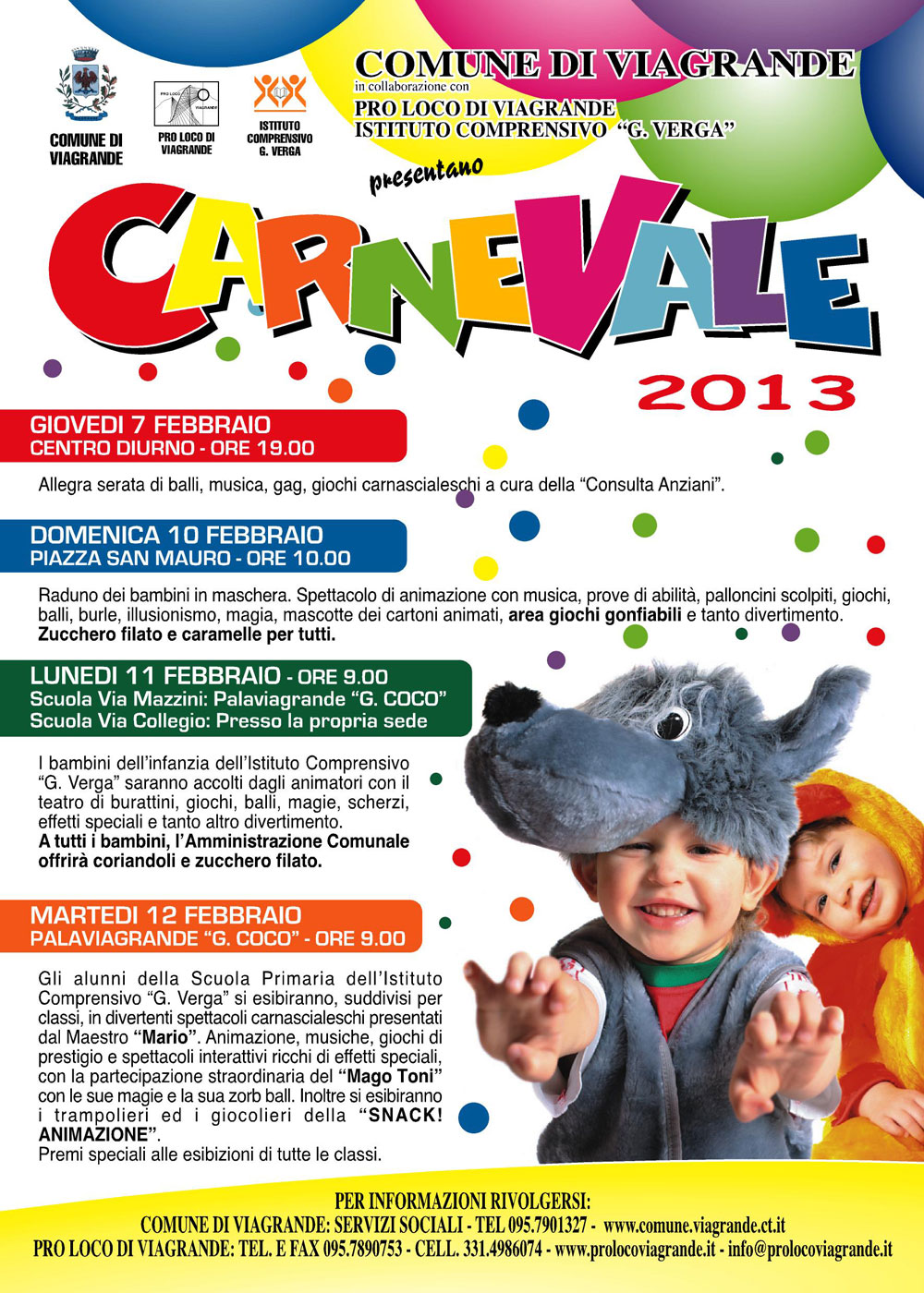 Carnevale 2013 a Viagrande