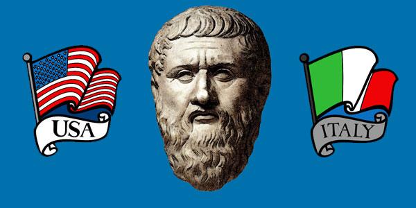 Platone. Usa-Italia