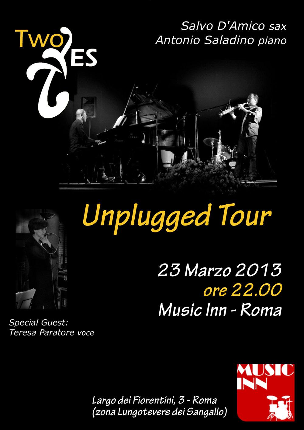 Two Es al Music Inn - Roma