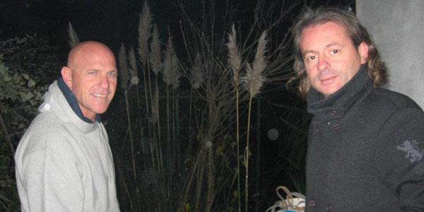 Il coach Gigi Grasso ed il presidente Antonio Marletta