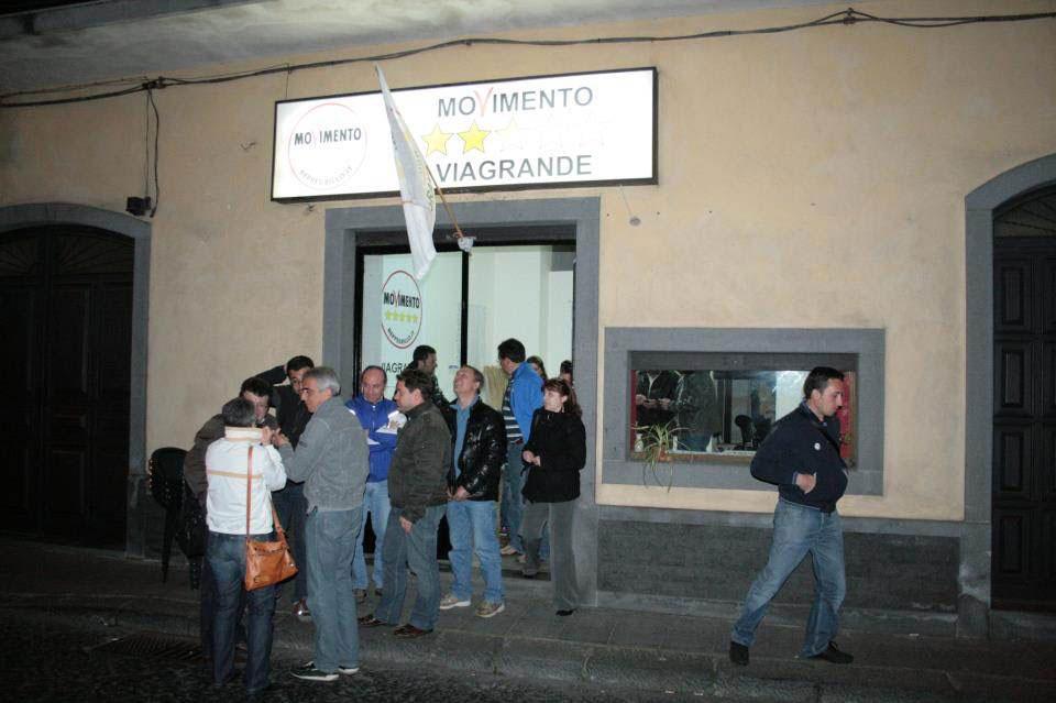 Sede Movimento 5 Stelle Viagrande, Via Garibaldi, 168