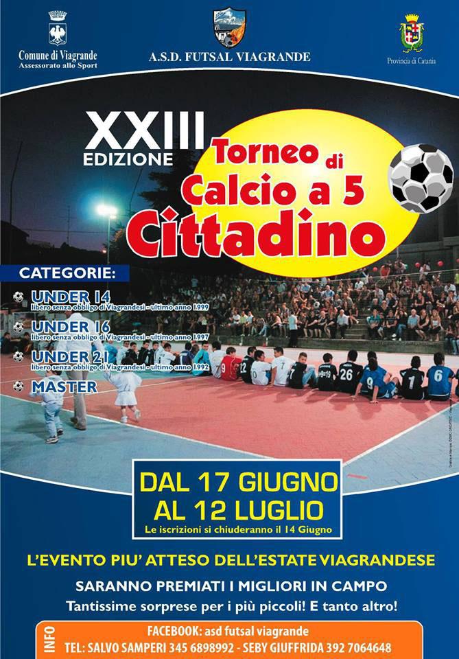 Futsal Viagrande 23° Trofeo