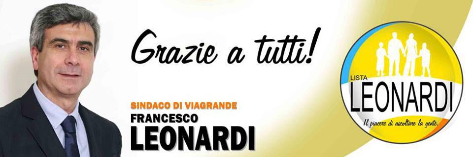 Francesco Leonardi. Grazie