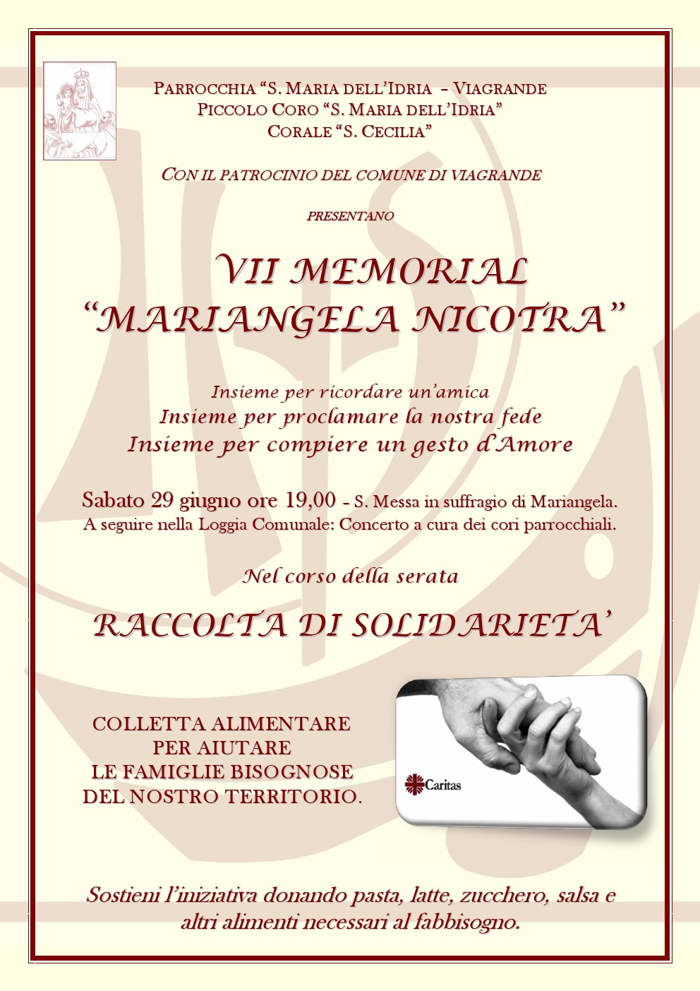 VII Memorial Mariangela Nicotra