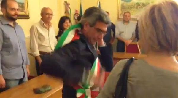 Proclamazione del nuovo Sindaco Francesco Leonardi