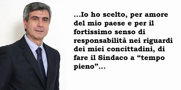 Francesco Leonardi. Sindaco a tempo pieno.