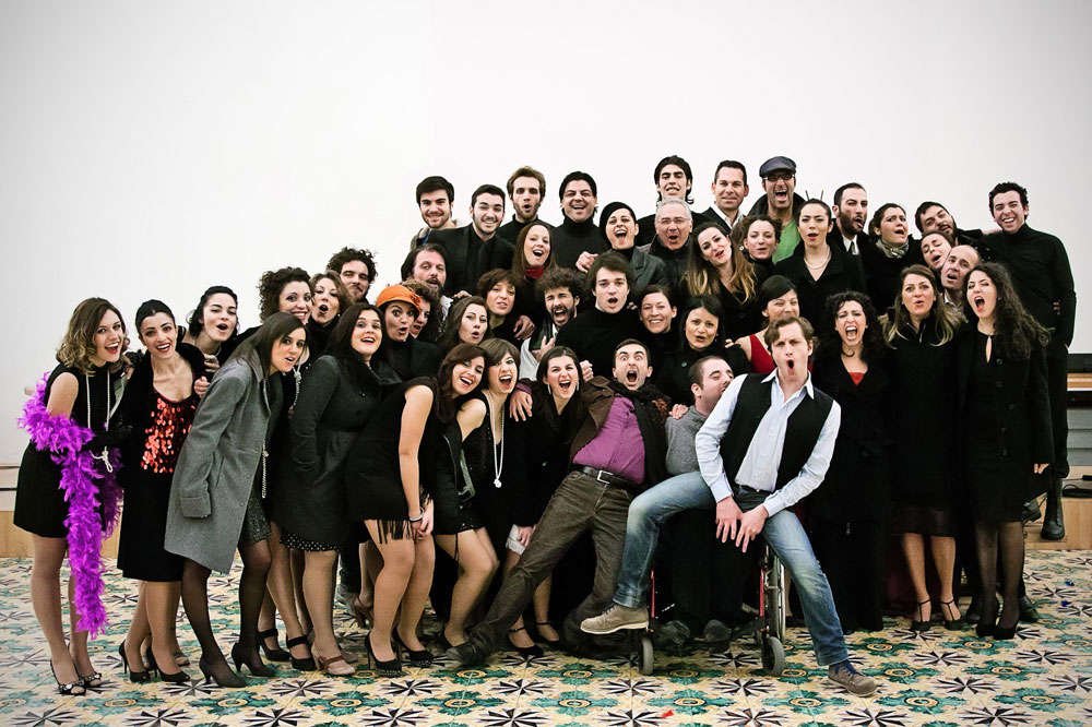 """La compagnia """"Teatro degli Specchi"""""""