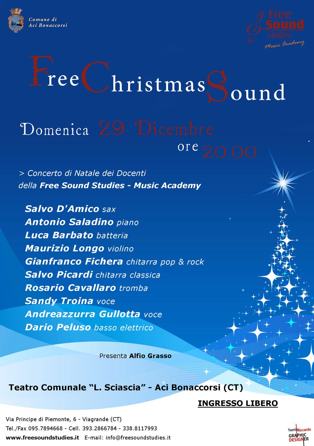 Free Sound Studies: Concerto di Natale 2013