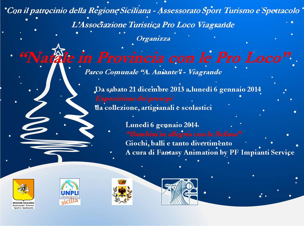 Natale in Provincia con le Pro Loco
