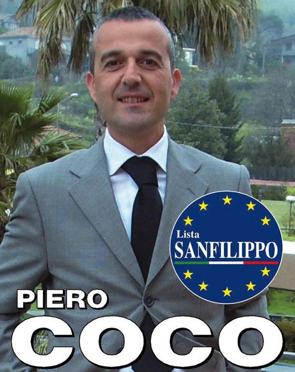 """Piero Coco - Consigliere """"Lista Sanfilippo"""""""
