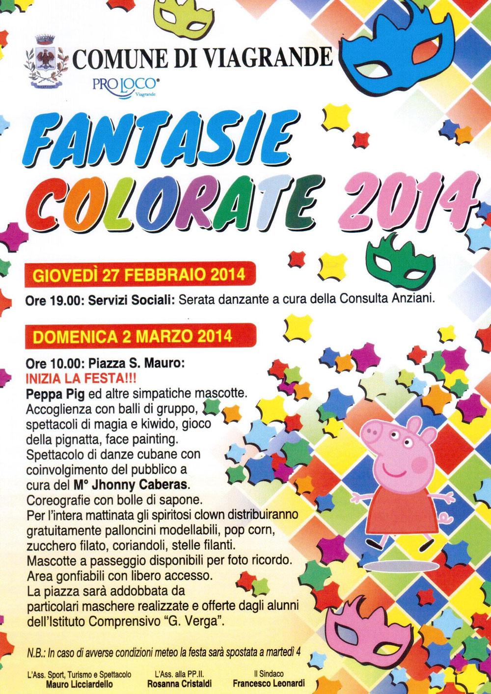 Fantasie Colorate 2014