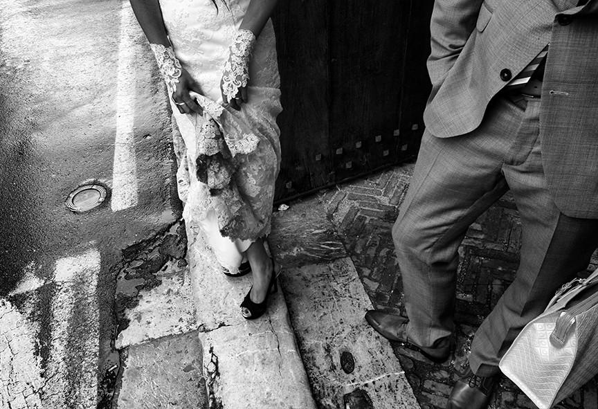 Salvo Moroni - Wedding details