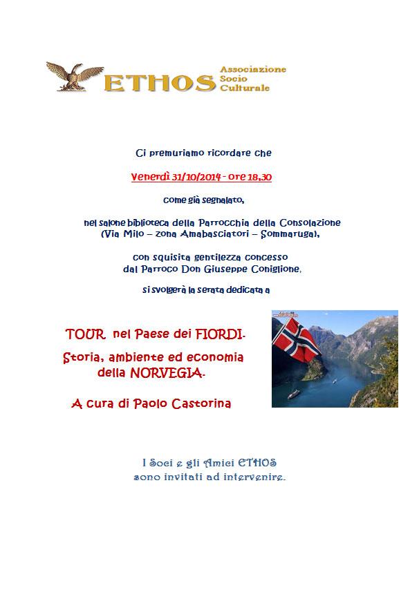 Ethos - Tour nel Paese dei Fiordi
