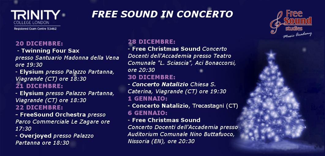 FreeSound In Concerto