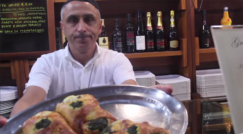 "The most delicious products of the ""Gran Caffè Urna"" (Viagrande, Catania - Sicily)"