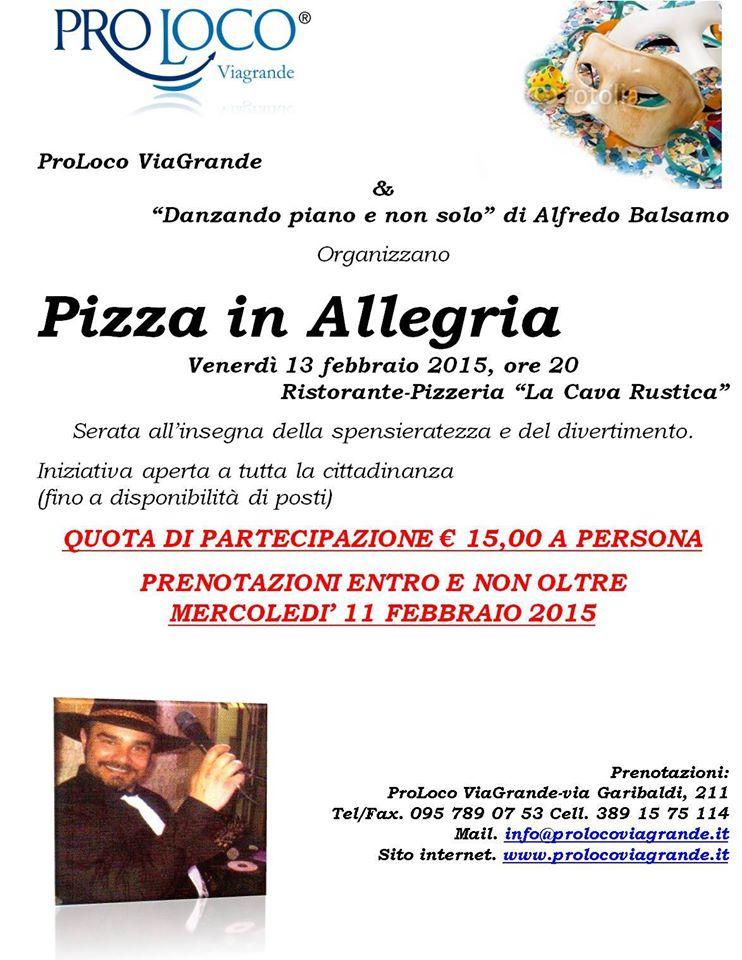 Pizza in Allegria