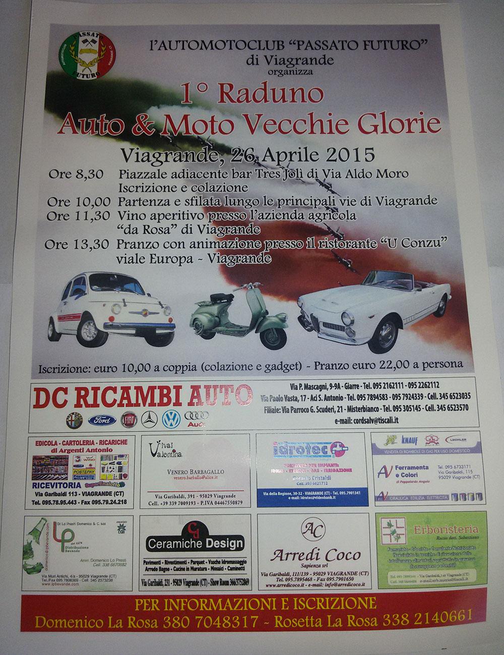 1° Raduno Auto & Moto Vecchie Glorie