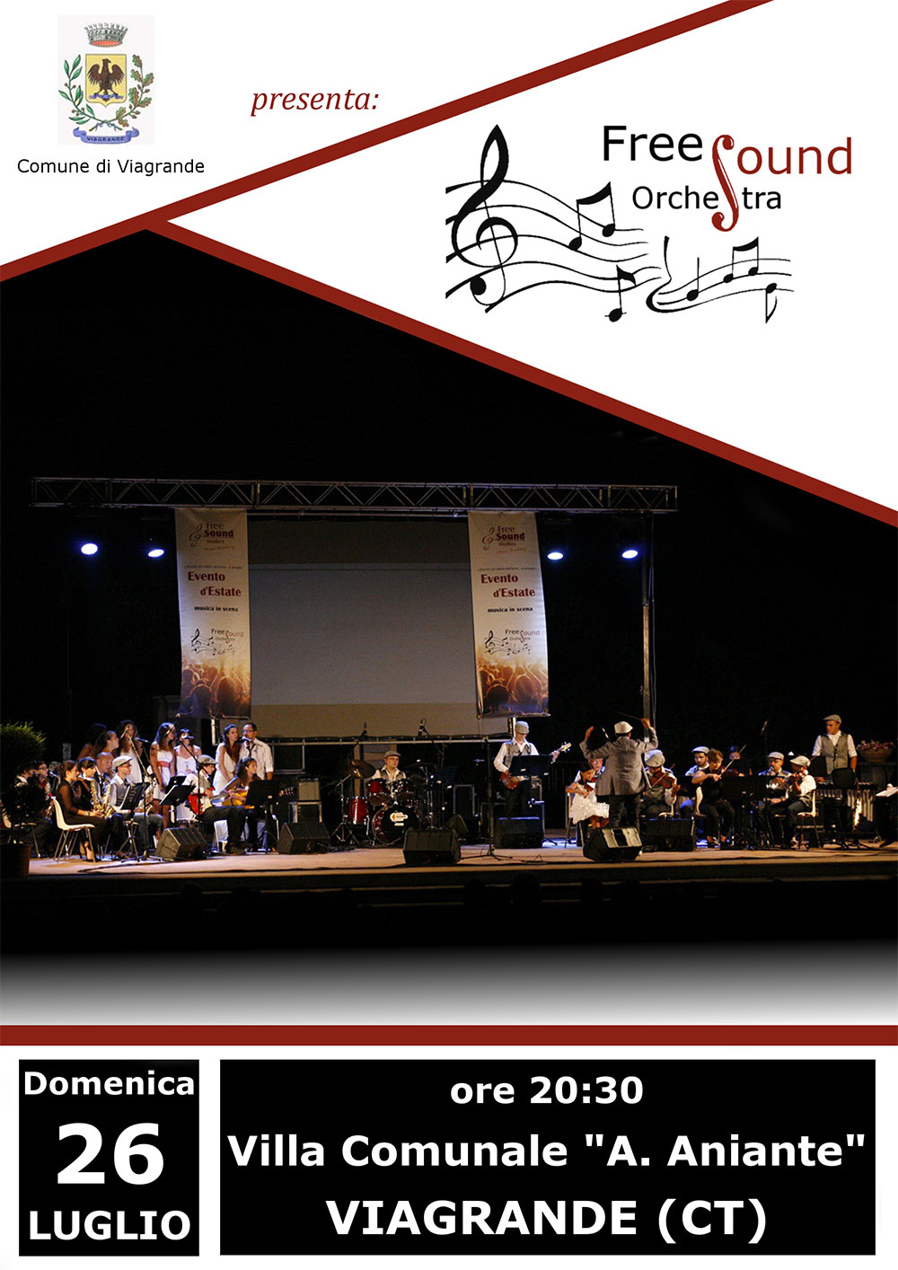 Viagrande. FreeSound Orchestra in Concert