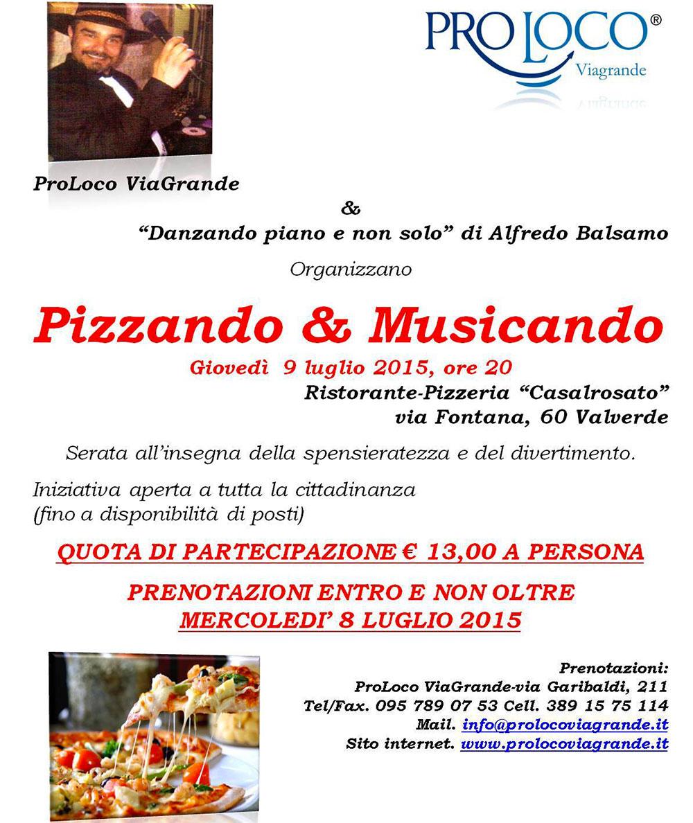 La Pro Loco di Viagrande e il M° Alfredo Balsamo a Valverde