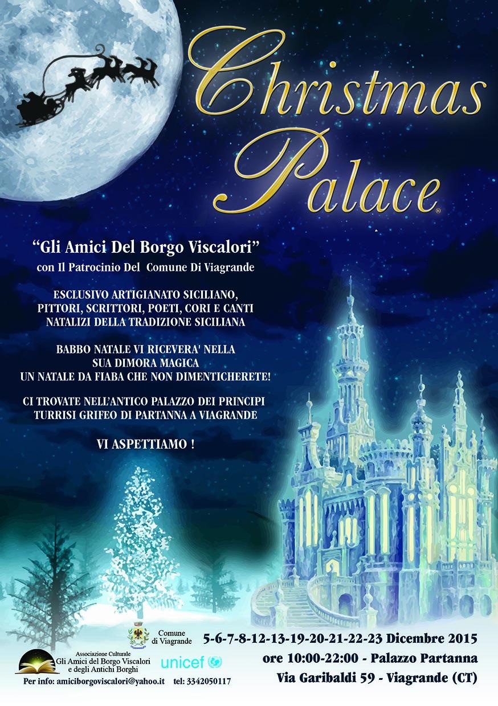 Il Christmas Palace degli Amici del Borgo Viscalori e degli Antichi Borghi