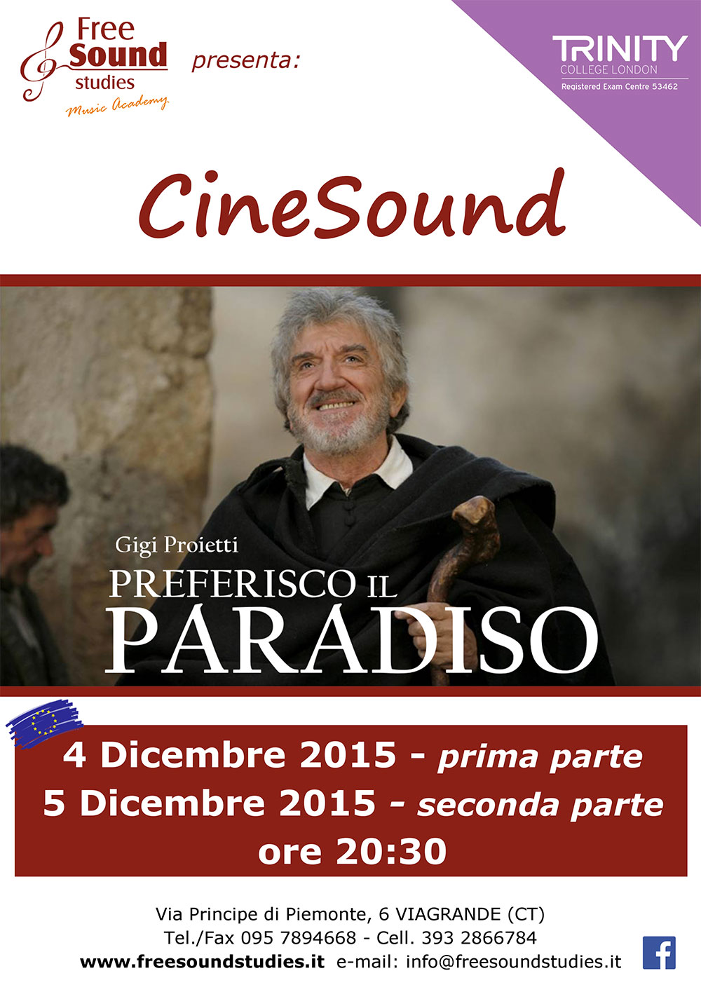 Alla Free Sound Studies di Viagrande il terzo appuntamento con CineSound