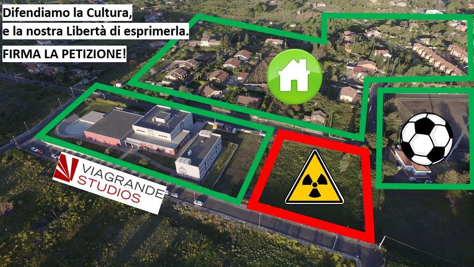 Viagrande Studios. Difendiamo la Cultura: NO Isola Ecologica in Via Baracca/Poio