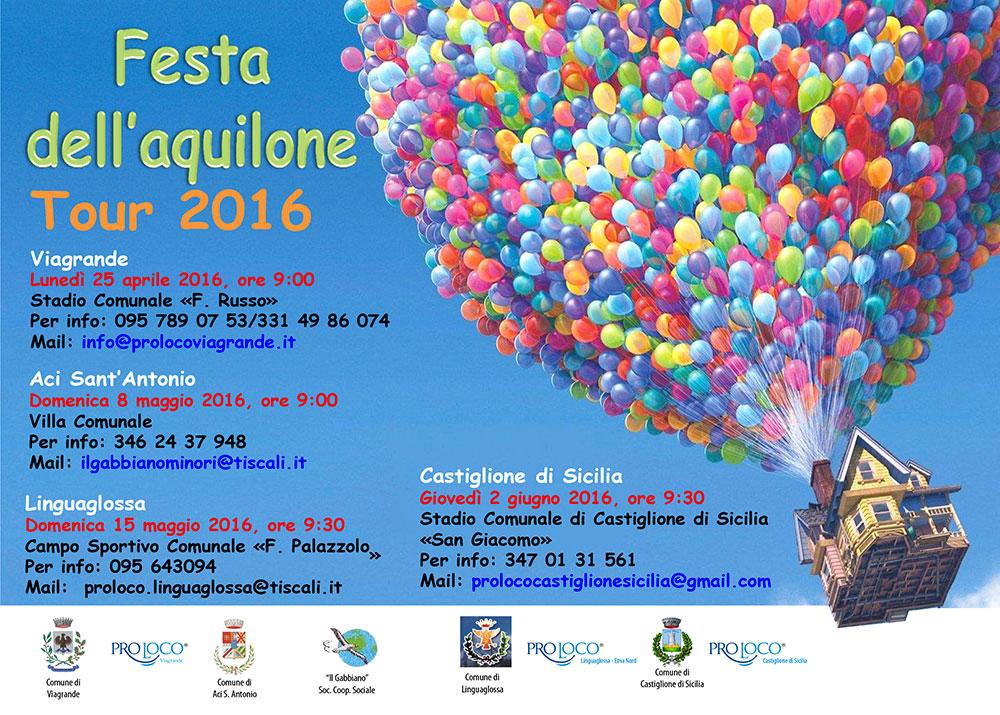 Festa dell'Aquilone Tour 2016