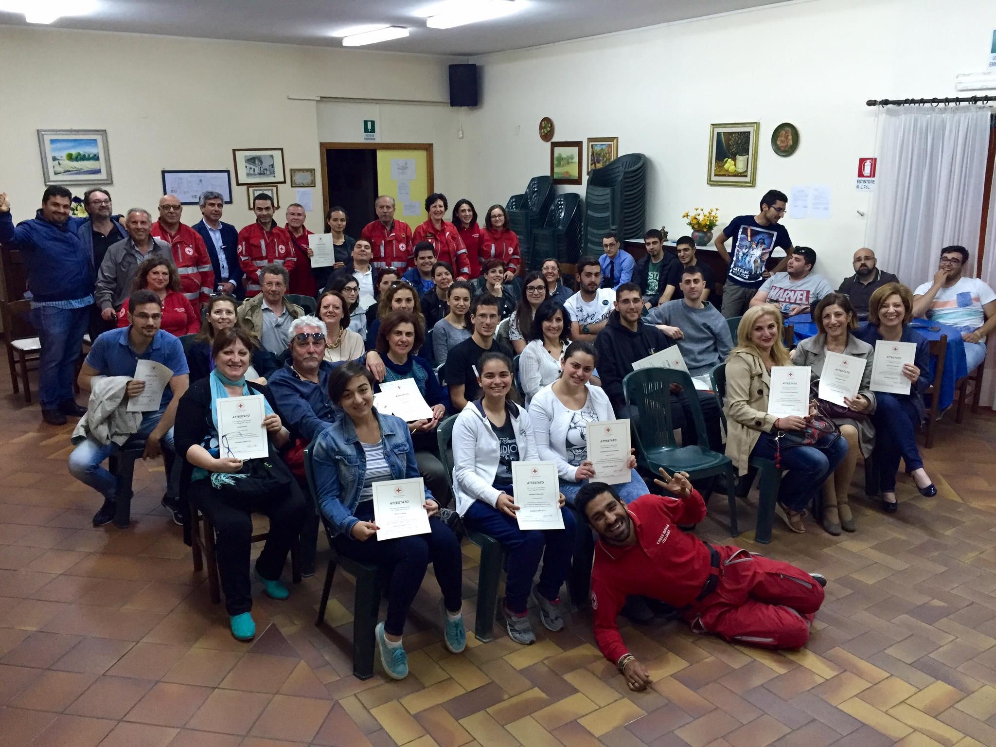 Nuovi Volontari in arrivo per la Croce Rossa di Viagrande