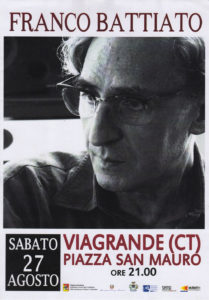 Franco Battiato in Concerto @ Viagrande (CT)