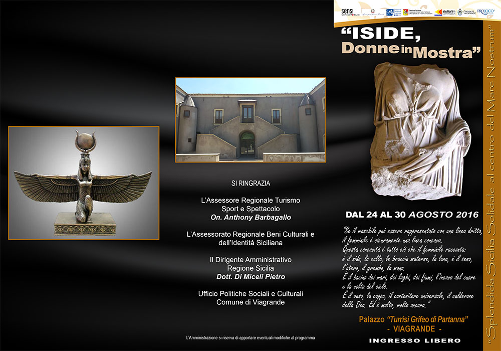 "A Viagrande: ""Iside, Donne in Mostra"""