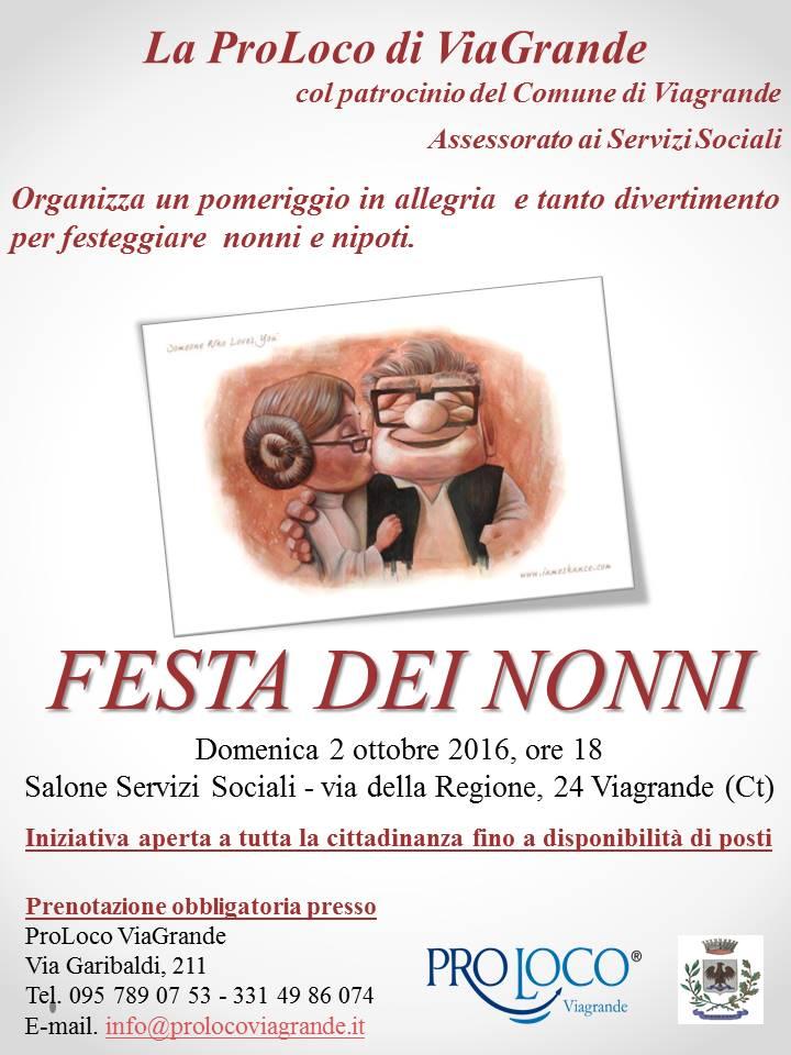 Festa dei Nonni @ Salone Servizi Sociali | Viagrande | Sicilia | Italia
