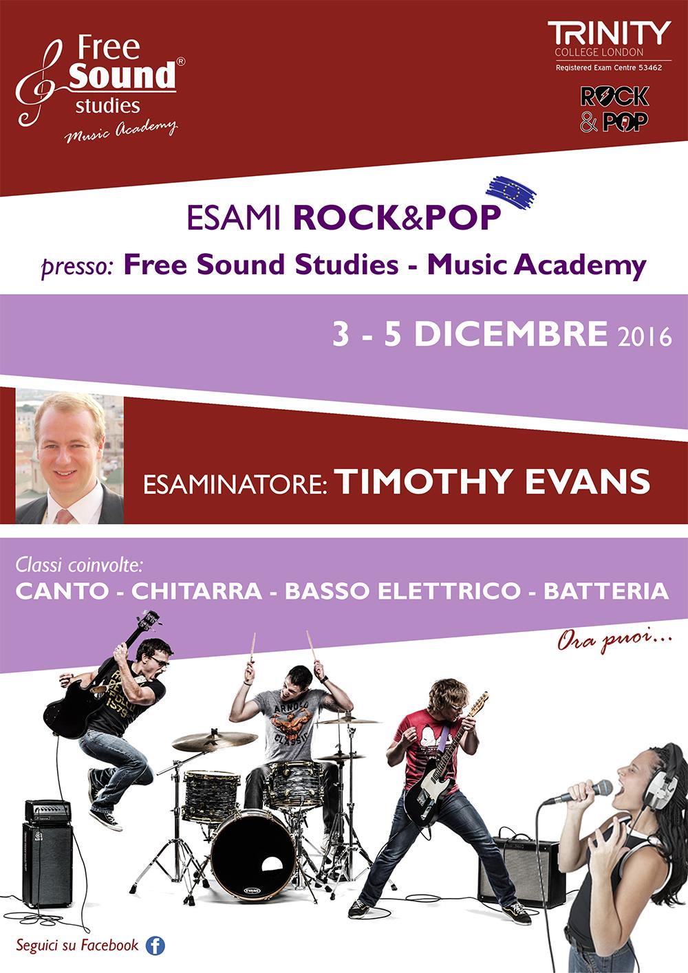 Esami Rock&Pop alla Free Sound Studies @ Free Sound Studies | Viagrande | Sicilia | Italia