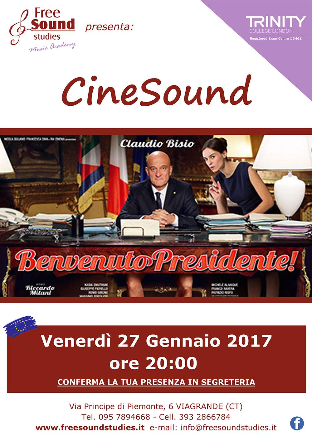 CineSound @ Free Sound Studies | Viagrande | Sicilia | Italia