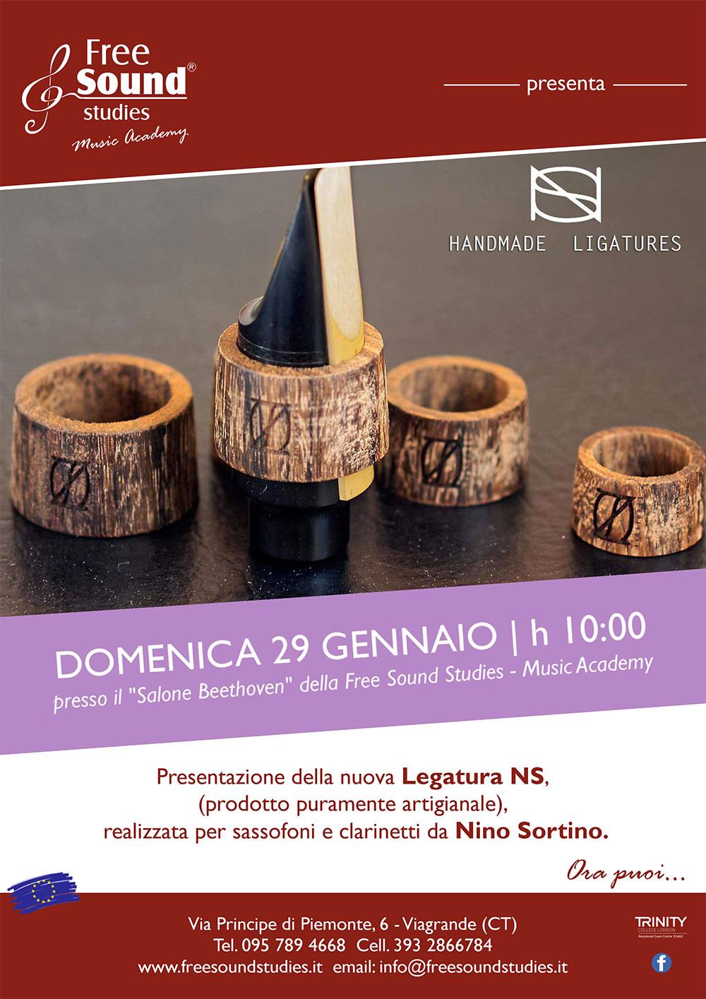 Presentazione Legatura NS @ Free Sound Studies | Viagrande | Sicilia | Italia