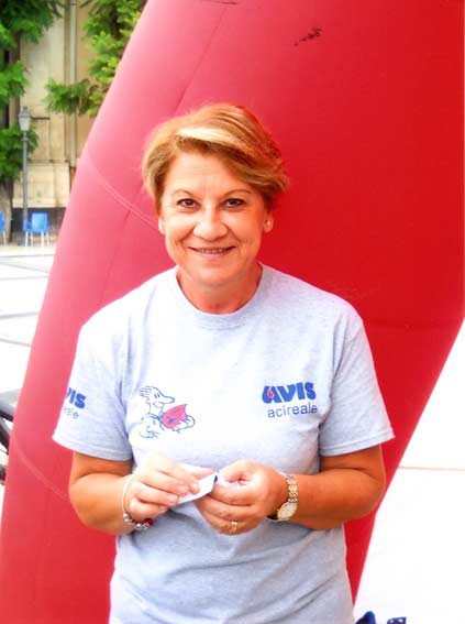 Presidente Avis Acireale Angela Belfiore
