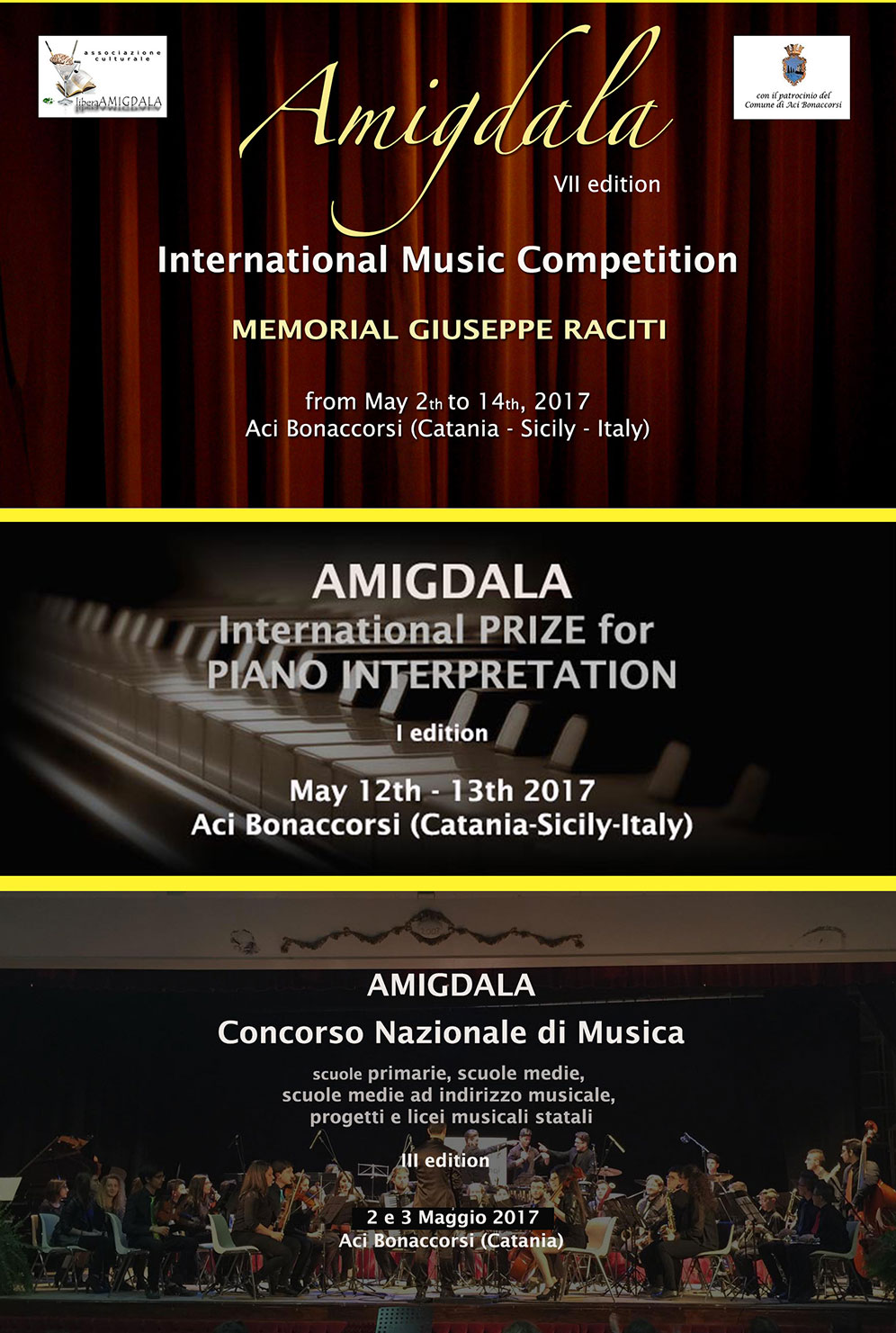 Amigdala - International Music Competition