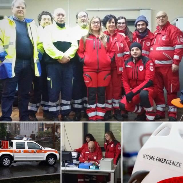 Croce Rossa e Protezione Civile