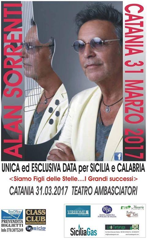 Alan Sorrenti - Siamo Figli delle Stelle @ Teatro Ambasciatori | Catania | Sicilia | Italia