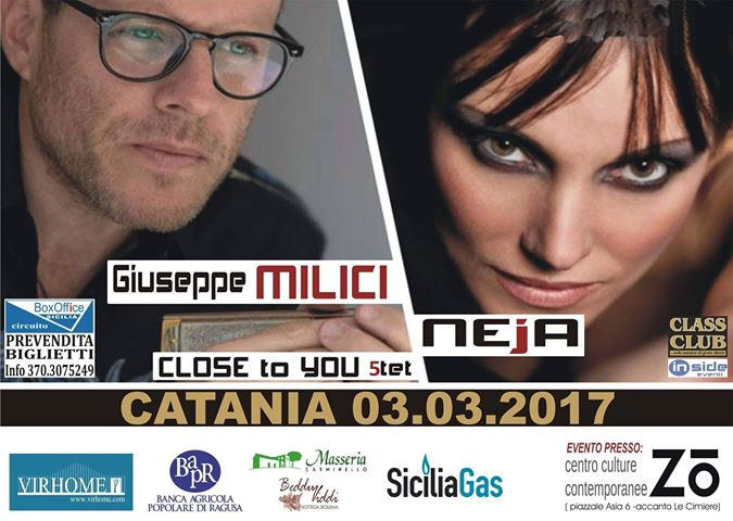 Giuseppe Milici e Neja Quintet - Close to You @ Centro Culturale Zo   Italia