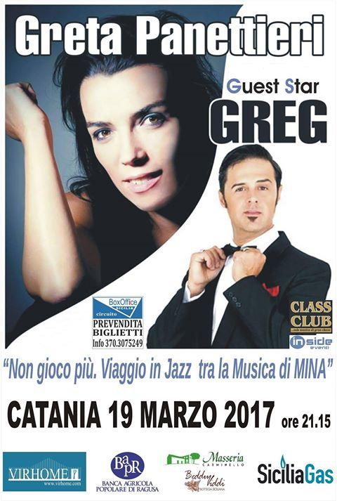 Greta Panettieri & Greg... canta Mina @ Centro Culturale Zo | Italia