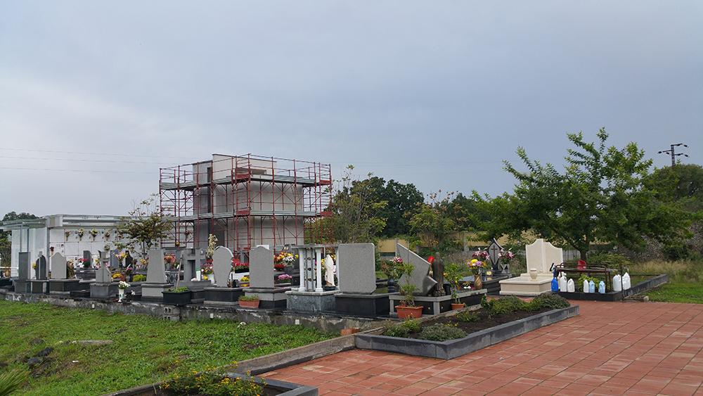Una vista del Cimitero