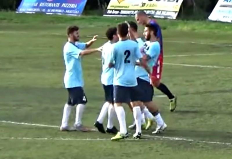 Sporting Viagrande-Torregrotta 7-1: il tabellino